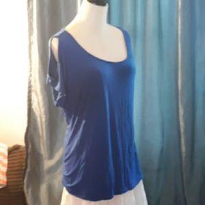 Tahari blue top